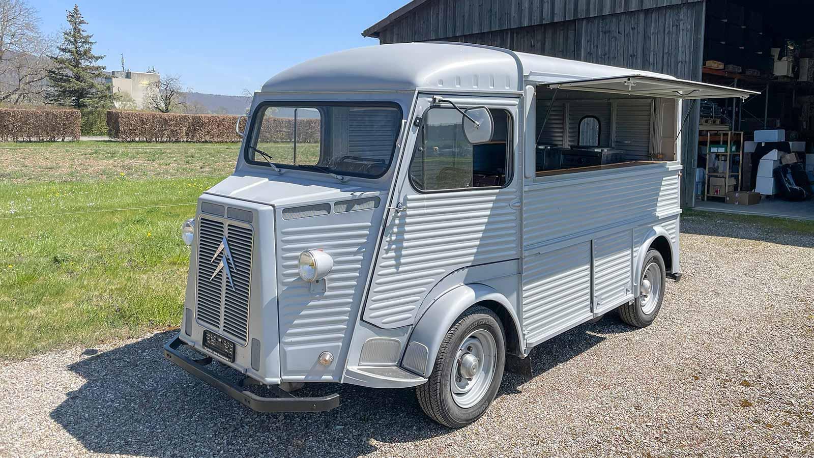 Citroën H Foot Truck mieten